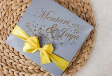 Premium boxy pouch packaging custom Mentari & Jaya by Gemilang Craft