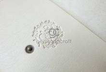 Premium envelope pouch for Yara & Fahmi  by Gemilang Craft