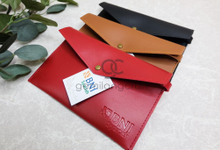 Envelope pouch for BNI Syariah by Gemilang Craft