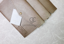Envelope pouch for Gladis and Andri by Gemilang Craft