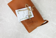 Premium boxy pouch packaging ribbon Juita & Lova by Gemilang Craft
