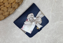 Premium b wallet with ribbon for Miftha & Hafiz by Gemilang Craft