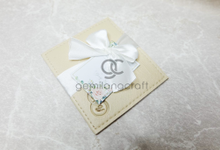 Premium card wallet for Steven and Yessy by Gemilang Craft