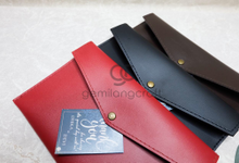 Envelope pouch for Dhika & Devi by Gemilang Craft