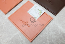 Premium card wallet for Edward & Desi by Gemilang Craft