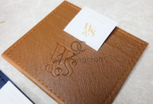 Premium card wallet for William & Sara by Gemilang Craft