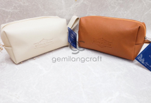 Special boxy pouch for Aska & Indra wedding by Gemilang Craft