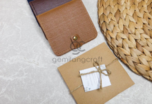 Premium card wallet paper box for Ola & Arly by Gemilang Craft