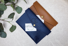 Premium envelope pouch for Felix & Diana by Gemilang Craft