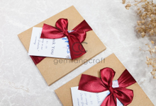 Premium card wallet paper box for graduate doctor by Gemilang Craft