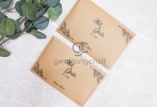 Prada envelope packaging paper flip Meli & Ghata by Gemilang Craft