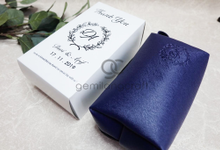 Premium boxy pouch packaging paper box Dwi & Arif by Gemilang Craft