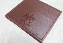 Premium card wallet paper box for Artajasa event by Gemilang Craft