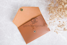 Special card coin case for Darwin & Rita by Gemilang Craft