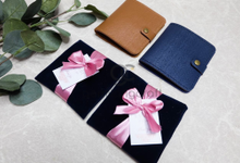 Premium b wallet for Indah & Rahul by Gemilang Craft