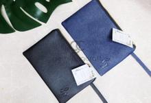 Premium zipper pouch for Hafizan & Yanida by Gemilang Craft