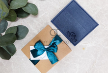 Premium card wallet for Ginta & Agung by Gemilang Craft