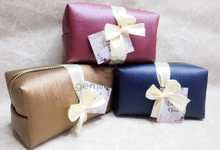 Boxy pouch packaging ribbon Azizah & Nova by Gemilang Craft
