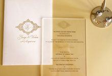 George and Vivian by Vinas Invitation
