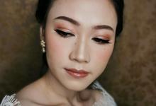 Wedding of Georgia by MakeupbyNadhia
