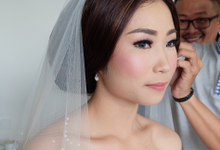 The wedding of Lisa by Geraldine Makeup Artist