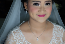 The wedding of Lia Takaria 7 Mei 2018 by Geraldine Makeup Artist