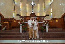 Pemberkatan Pernikahan Diza & Dani by Creative Fotografi