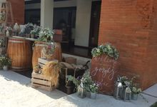 Sunset Garden Party by d'Oasis Florist & Decoration
