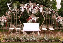 Ghea & Iqbal Wedding Decoration by Nona Manis Creative Planner