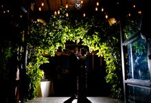 The Wedding of Ghia & Rico by Bantu Manten wedding Planner and Organizer