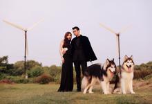 Prewedding of Chintya & Glen by Gianina Atelier