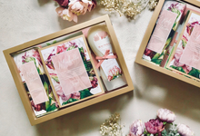 Wedding essentials for chiko & angelia by Gift box