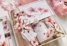 Sakur blossom bridesmaid box by Gift box