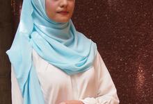 Pasmina sifon pastel by GiftbyFatimah