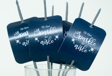 Let Love Sparkle the Aisle Fire Works by Giftscape