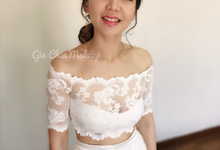 Day Wedding Brides by Gin Chia Makeup