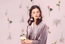 bridal Robes Top quality silk by upper east bridesmaid