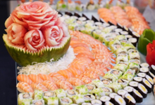 500 pax sushi on 20 October 2019 by GINZA CATRING