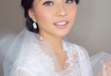My Bride 22/09/18: Clara Setia Utama by Giovanni Nathalie Make Up Artist