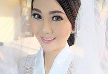 Wedding Make Up W & T by nof makeup