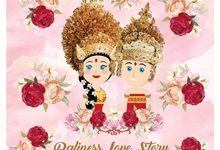 Wedding Invitation by Port of Tasya