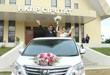 Happy Wedding Adolf & Ika by sapphire wedding car