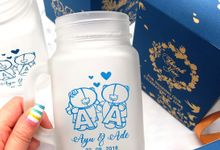 Drinking Jar Include Personalised Paperbag by Fine Souvenir