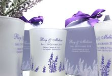 Frosted Glass Include Personalised Paperbag by Fine Souvenir