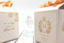 Frosted Glass Include Personalised Paperbag & Printing by Fine Souvenir