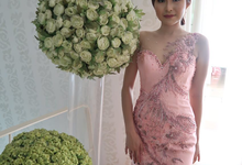 Engagement Dress in Pink Peach by Gladicious