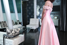 Bridesmaid Dress in Pink by Gladicious