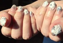 Wedding nails by SASSI Nail & Spa