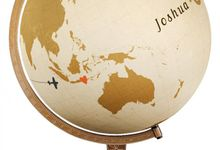 Custom Guest Sign-in Globe by CM Creative Concepts