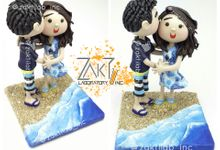 Cute Couple Figure (TypeB) Beach Theme by Zakti Laboratory Inc